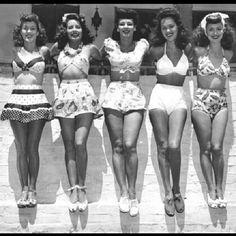 1940's Swimwear