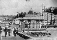 Archive photograph of the West Pier, Brighton - West Pier Trust
