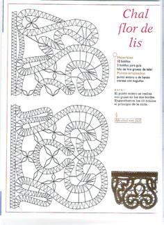 renda de bilros / bobbin lace esquemas / patterns - from Álbumes web de Picasa picasaweb.google.com
