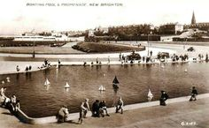 Boating pool. New Brighton, Boating, Old Photos, Liverpool, Seaside, Pond, Nostalgia, British, Street View