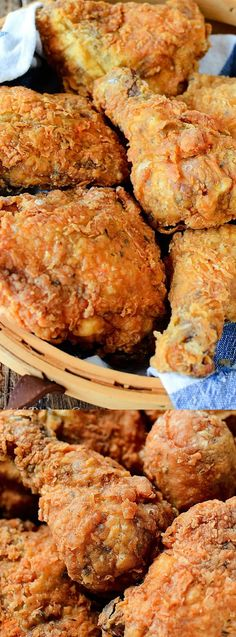 This Southern KFC Fried Chicken Copycat Recipe from My Incredible Recipes is going to knock your socks off! The chicken has a delicious buttermilk crunchy batter coating that will literally melt in your mouth!