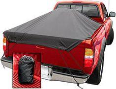 Truck Bed Tonneau Cover Tarp - Quick-Cap - 6.5' bed