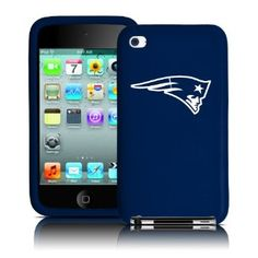 Patriots Silicone Shield for iPod Touch (4th Gen)