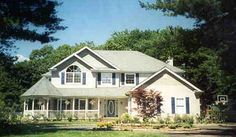 CONCORD House Plan - 4463. I am in love with this house!!