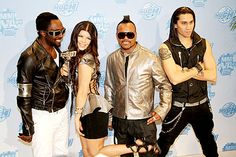 Will.I.Am, Fergie, Apl.de.ap and Taboo of Black Eyed Peas attend the MuchMusic Video Awards on June 21, 2009 in Toronto, Canada.