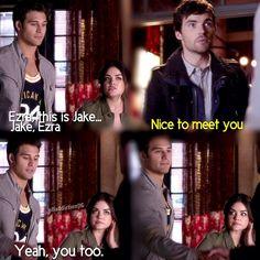 Nice to meet you!! Jake- Ezra!