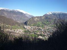 Il Pizzoc ed il Visentin dal Monte Altare a Vittorio Veneto