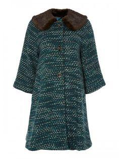 Dickens & Jones Westerly Vintage Coat Was £200 Now £80