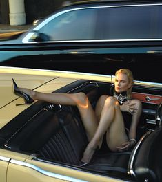 trautmans-legs:Charlize Theron posing for W Magazine - May 2015