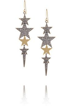 Pucci Crystal-embellished star earrings