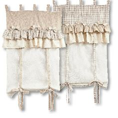 Tende raffinate in puro lino.....shabby chic? | Drapes | Pinterest ...
