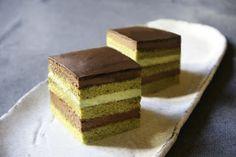 COCINA CON TÉ VERDE: Matcha Opera Cake