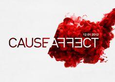 Cause / Affect TEDx theme logo