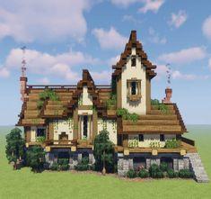 - Minecraft World 2020 Casa Medieval Minecraft, Cute Minecraft Houses, Minecraft Castle, Minecraft Plans, Minecraft House Designs, Minecraft Blueprints, Minecraft Creations, Minecraft Crafts, Minecraft Bedroom