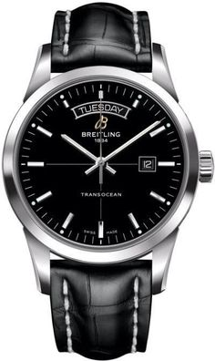 Breitling Watch Transocean Day Date Black #add-content #bezel-fixed #bracelet-strap-crocodile #brand-breitling #case-depth-12-8mm #case-material-steel #case-width-43mm #cosc-yes #date-yes #day-yes #delivery-timescale-call-us #dial-colour-black #gender-mens #luxury #movement-automatic #official-stockist-for-breitling-watches #packaging-breitling-watch-packaging #style-dress #subcat-transocean #supplier-model-no-a4531012-bb69-743p #warranty-breitling-official-2-year-guarantee…