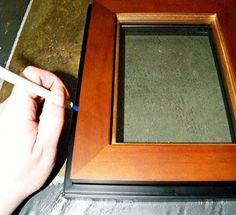 How to Make a Shadowbox from Dollar-Store Frames: MacGyver Style. How to Make a Shadowbox from cheap Dollar-Store Frames: MacGyver Style - Scrapbooking ideas Diy Projects To Try, Crafts To Make, Fun Crafts, Wood Projects, Wood Crafts, Diy Shadow Box, Shadow Box Frames, Do It Yourself Jewelry, Do It Yourself Home