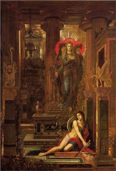 Orestes and the Erinyes - Gustave Moreau