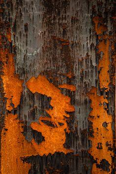 Rust on steel