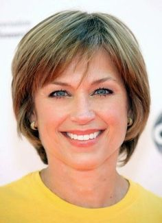 haircuts for women over 50 with thick hair   Short hairstyle for women over 50s- Dorothy Hamill's Hairstyles. Like ...