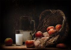 фотография корзины с яблоками и кувшином: 3 тыс изображений найдено в Яндекс.Картинках