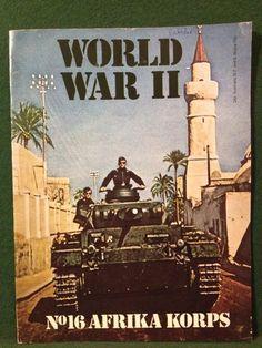 World War II Magazine Orbis Publishing 1972 Vol 2 No. 16 Afrika Korps