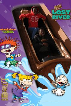Check out my photo from Rugrats Lost River at Blackpool Pleasure Beach!