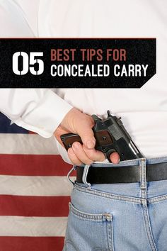 5 Concealed Carry Tips for Gun Owners - Best Gun Concealment | How To Properly Use Weapon by Gun Carrier http://guncarrier.com/5-concealed-carry-tips-gun-owners/