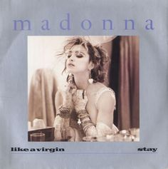"""For Sale -Madonna Like A Virgin - Injection Moulded Label UK  7"""" vinyl single (7 inch record)- See this and 250,000 other rare and vintage records & CDs at http://eil.com/"""