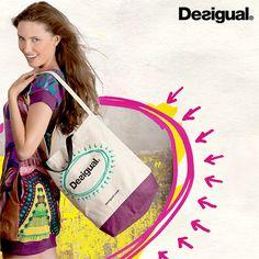 Desigual Shopping Bagでショッピングがさらに楽しくなる!2012年9月16日までの限定。http://dsgl.me/kxvl
