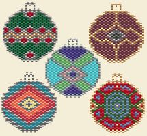 Holiday Ornament Earring Set at Sova-Enterprises.com