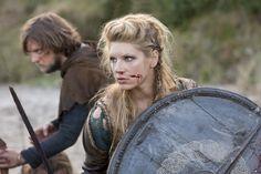 Vikings tv show, actress, fight wallpaper