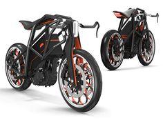 KTM Ion Motorcycle by Daniel Brunsteiner