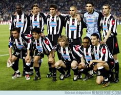 Juventus 2003 Buffon Thuram Ferrara Tudor Montero Camoranesi Nedved/Tacchinardi Davids Zambrotta Trezeguet Del Piero