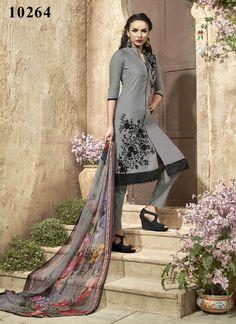 Anarkali Indian Kameez Designer Dress Ethnic Bollywood Suit Pakistani Salwar…