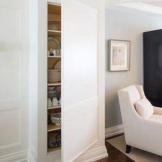 Hidden Cupboard, Traditional, kitchen, Parkyn Design