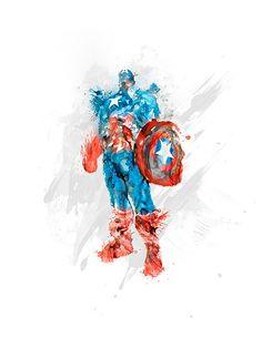 Captain America by Kacper Kiec