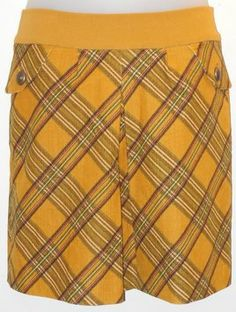 """Anthropologie Taikonhu Plaid Skirt. This Anthropologie Taikonhu Plaid Skirt was voted """"Most Flattering Fit"""" by Tradesy members! Get it before it's gone at Tradesy, where savings rule."""