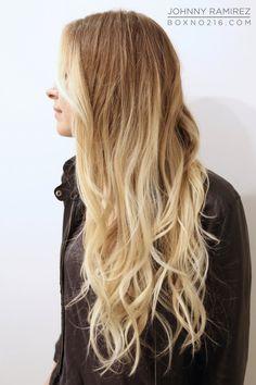 LONG + BLONDE. Hair Color by Johnny Ramirez • IG: @johnnyramirez1 • Appointment inquiries please call Ramirez Tran Salon in Beverly Hills at 310.724.8167.  #hair #besthair #beachhair #johnnyramirez #highlights #model #ramireztransalon #sunkissedhighlights #bestsalon #beauty #lahair #brunette #blonde #highlights #caramel #salon #blondehair #beachyhair #beautifulhair #ramireztran #ramireztransalon #johnnyramirez #sexyhair