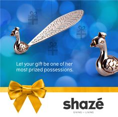 A visit to an old friend's house is always a pleasure.  And this time, surprise her with this elegant peacock paperweight. It's unique and stylish, and is sure to be one of her most prized possessions.  For more gifting options visit www.shaze.in