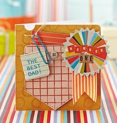 Download the free printable sentiments from Julie Kirk's Father's Day cards in issue 113 - Papercraft Inspirations