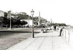 Av Beira Mar .Obelisco   Igreja de Santa Luzia  com Morro do Castelo ao fundo