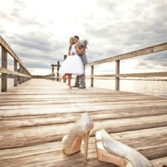 Live the dock wedding...love this picture