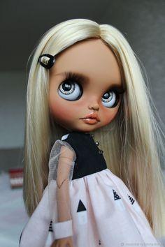 Купить Кукла Блайз Джойс (Blythe doll Joyce OOAK,TBL) в интернет магазине на Ярмарке Мастеров