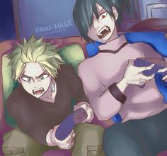 Boys day off!!!!!!!! >~< ||Sting & Rogue||