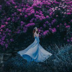 Flowers Keepers - uma série de fotos apaixonantes e floridas » Dalila em Fúria