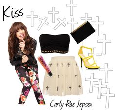 """Kiss - Carly Rae Jepsen"" by chiari98 on Polyvore"