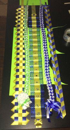 Homecoming Mum Garter Braids. Military Braid. Spirit Chain. Texas Braid.  Honeycomb Loops