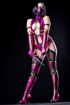 Mileena - Mortal Kombat cosplay