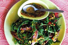 Rustle up this quick and healthy salad in just a few minutes.