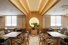 Wabi-sabi inspired Japanese interior by Red Design Japanese Interior Design, Japanese Design, Contemporary Interior, Japanese Restaurant Design, Japanese Style, Chinese Style, Japanese Food, Timber Walls, Function Room